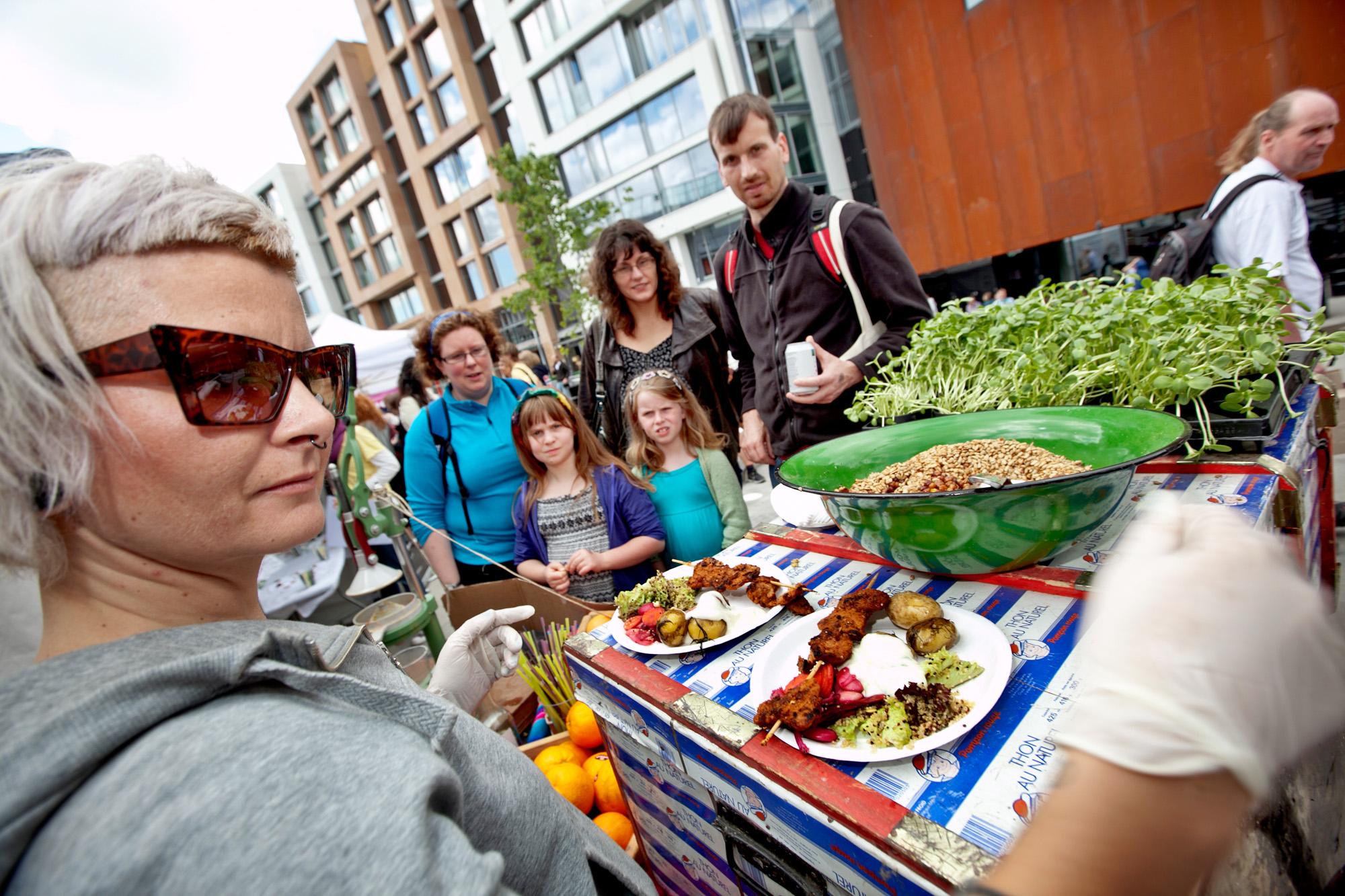 Hannas Grillbod var en stor suksess på sidste års festival. Foto: Nyebilder.no